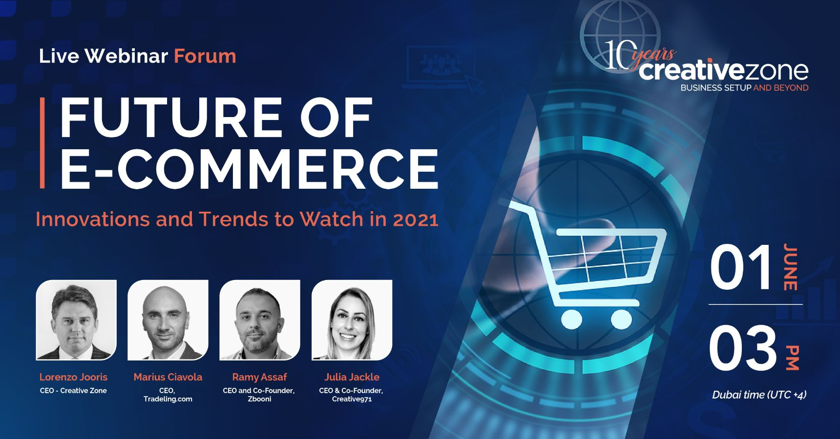 Creative Zone - Future of E-Commerce: Innovations and Trends to Watch in 2021