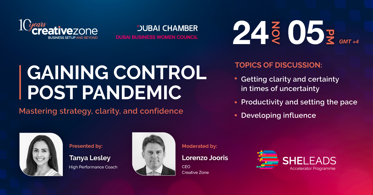 Creative Zone - She Leads Week 10 | Gaining Control Post Pandemic | Mastering Strategy, Clarity, and Confidence