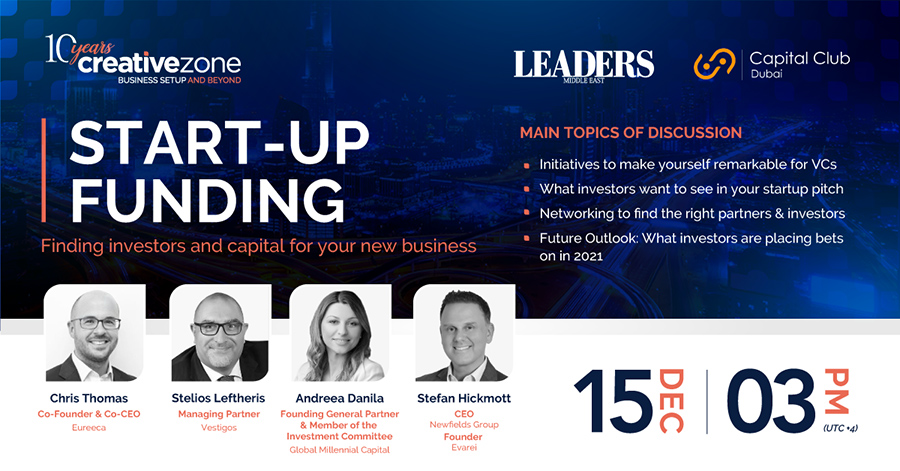 Creative Zone - Start-up Funding | Finding Investors and Capital for Your New Business