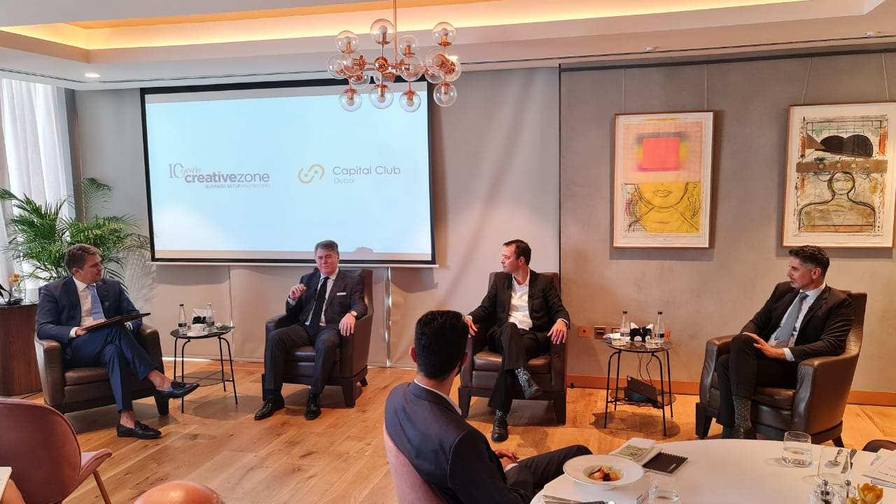 Creative Zone - Joint Ventures, Technology Supply, and Rising Opportunities Discussed at the First In-Person UAE-Israel Business Roundtable
