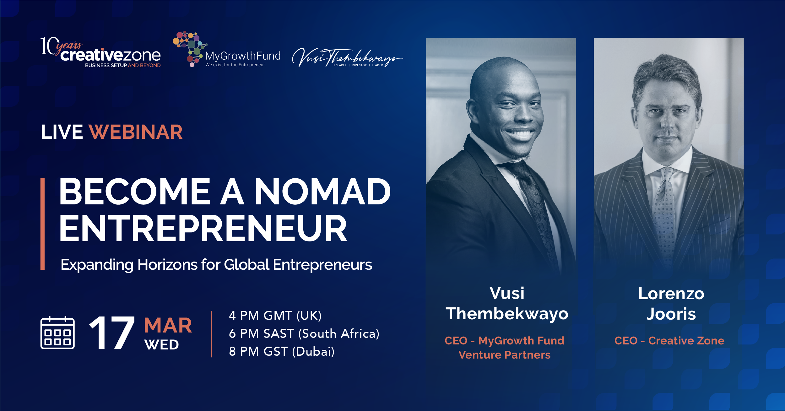 Creative Zone - Become a Nomad Entrepreneur with Vusi Thembekwayo