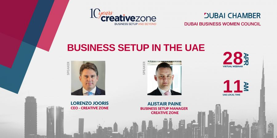 Creative Zone - Business Setup In The UAE (with Dubai Chamber and Dubai Business Women Council)